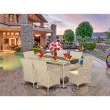 Tooley Porch 7 Piece Dining Set with Cushions