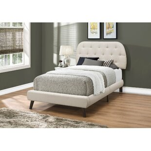 Springdale Upholstered Panel Bed by Wrought Studio