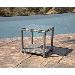 Koerner Wicker Side Table