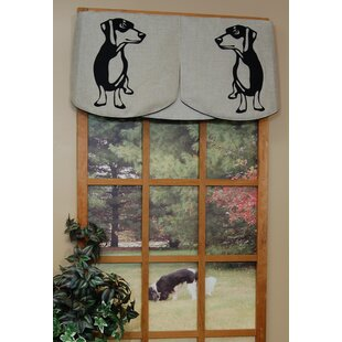 52 X 39 Big Window Curtains Kitchen Curtains Cute Dachshunds Bones Window Drapes 2 Panel Set for Kitchen Cafe Decor