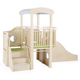 City Toddler Loft 4.44' X 8.32' Playhouse By Guidecraft