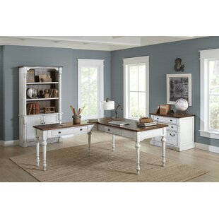 August Grove Chmura 3 Piece Desk Office Suite
