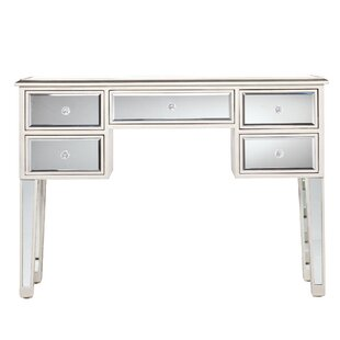 Rosdorf Park Luedtke Mirrored Console Table