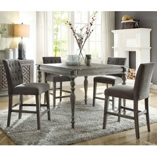 Balfor 5 Piece Counter Height Dining Set by One Allium Way