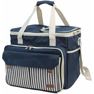 Picnic Tote Bag, Service for 4