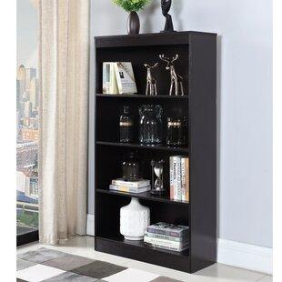 Holderman Sturdy Wooden Standard Bookcase by Winston Porter