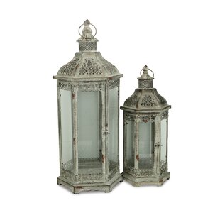 World Menagerie 2 Piece Lantern Set
