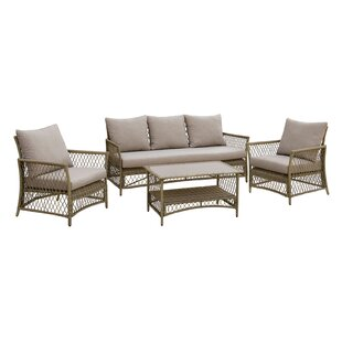 Vera 4 Piece Sofa Set with Cushions
