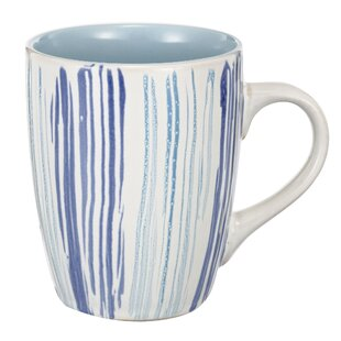 Valeria Hand Painted Ceramic Coffee Mug