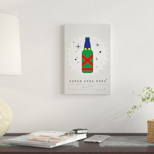'Super Soda Pops XXI' Graphic Art Print on Canvas By East Urban Home