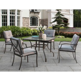 Red Barrel Studio Ellard 5 Piece Dining Set with Cushions