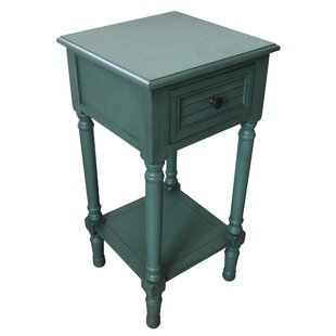 Wessel End Table with Storage