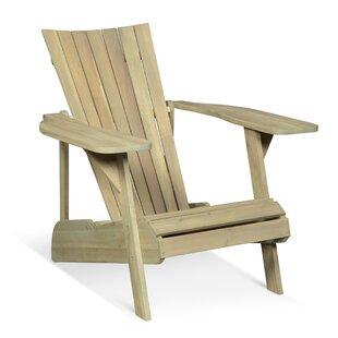 Ridge Wood Adirondack Chair by Lynton Garden