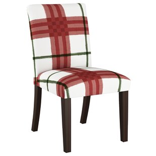 Buffalo Plaid Dining Chair Wayfair