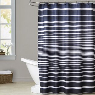 Debusk Stripes Single Shower Curtain
