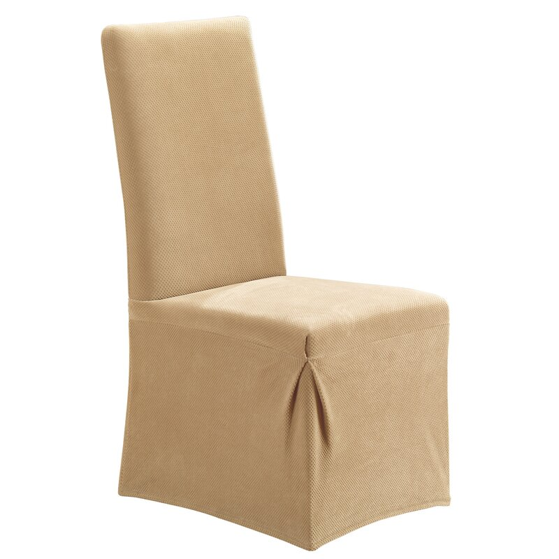 Sure Fit Stretch Pique Dining Chair Slipcover & Reviews | Wayfair