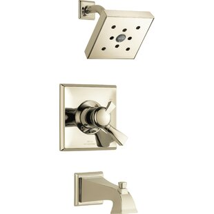 Delta Dryden Pressure Balanced Tub and Shower Trim with Monitor