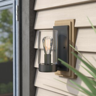 Savings Cranmer Outdoor Sconce By Mercury Row