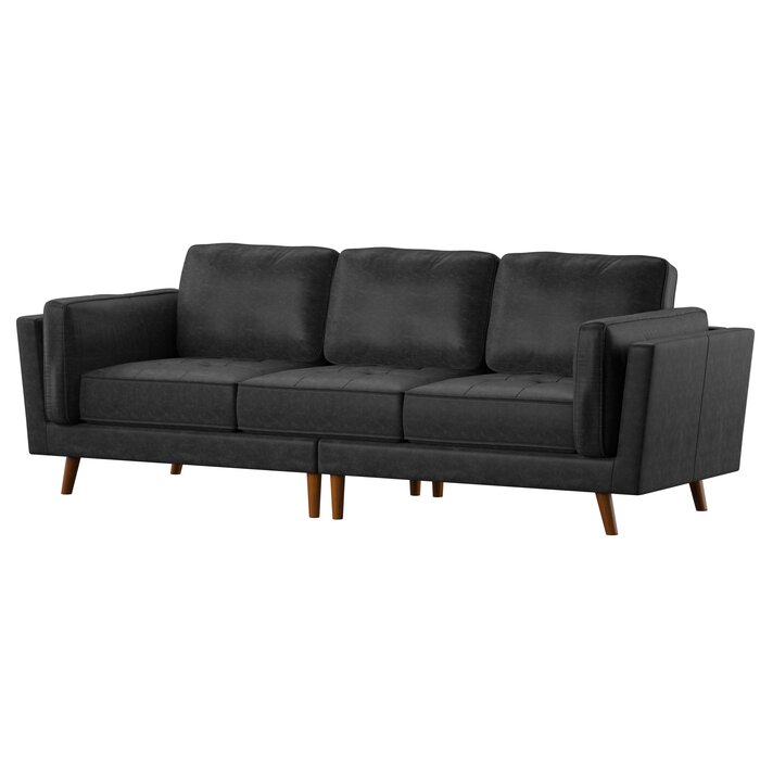 Prime Marrufo Leather Sofa Pabps2019 Chair Design Images Pabps2019Com