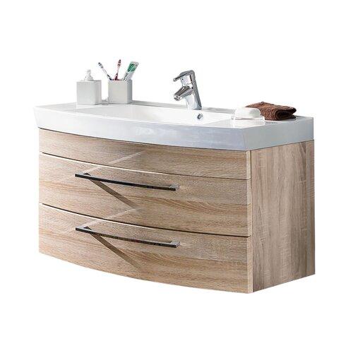 Rima 100cm Wall Mounted Under Sink Storage Unit Belfry Bathroom Vanity Base