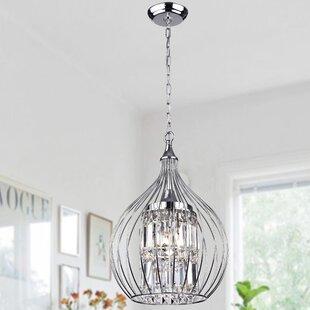 Greyleigh Richwood 3-Light Globe Chandelier