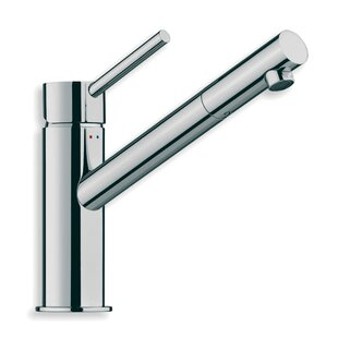 WS Bath Collections Linea Single Hole Bathroom Faucet with