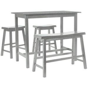 Stephenson 4 Piece Pub Table Set