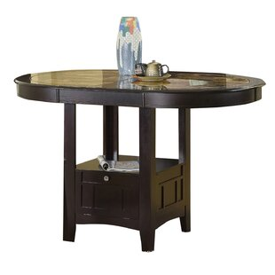 Degraffenreid Solid Wood Dining Table Red Barrel Studio