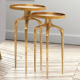 Rosborough 2 Piece Nesting Tables by Willa Arlo Interiors