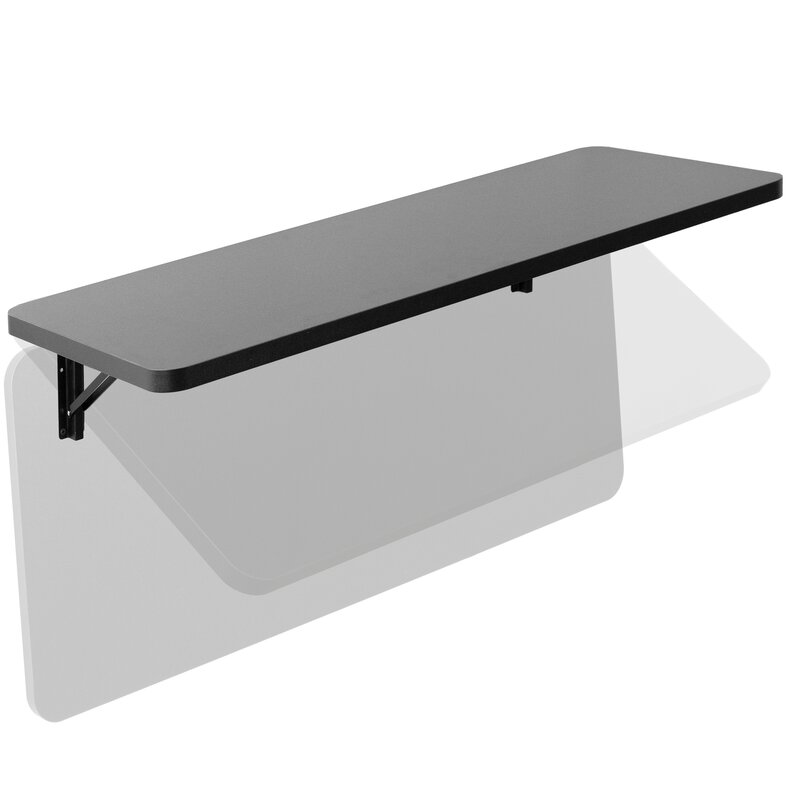 Small Fold Down Wall Mounted Workbench Wall Mounted Folding Table for Garage,Dining Table,Coffee Table,16 Sizes