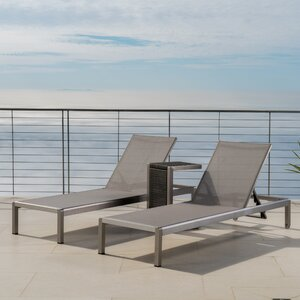Durbin 3 Piece Chaise Lounge Set