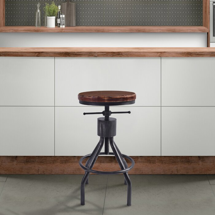 Surprising Verdell Backless Adjustable Height Bar Stool Set Of 4 Gamerscity Chair Design For Home Gamerscityorg