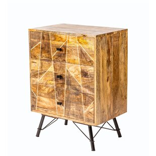 George 3 Drawer Accent Chest by Union Rustic
