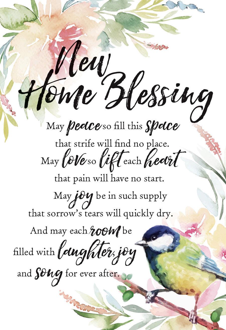 Dexsa Woodland Grace New Home Blessing Textual Art On Wood Wayfair