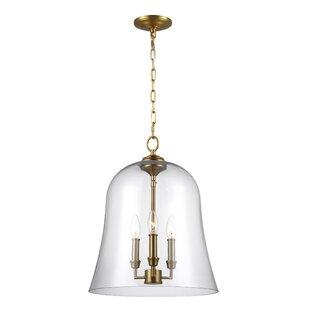 Darby Home Co Chilcott 3-Light Bell Pendant