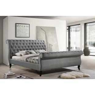 Edwyn Upholstered Sleigh Bed