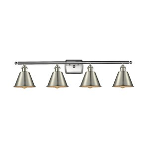 Beachcrest Home Nakayama 4-Light Vanity Light