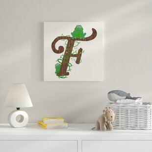 F Canvas Art By HoneyBee Nursery