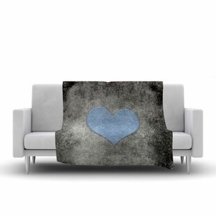 Look for Bruce Stanfield Vintage Valentines Digital Fleece Blanket ByEast Urban Home