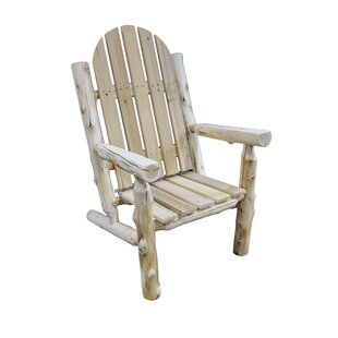Westley Solid Wood Adirondack Chair by Millwood Pines