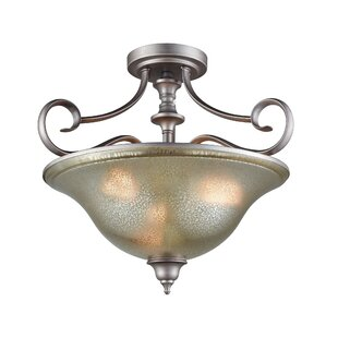 Waller 3-Light LED Semi Flush ..