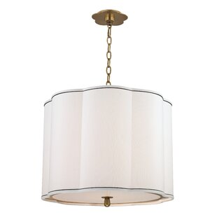 Rosdorf Park Kayden 4-Light Drum Pendant