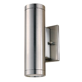Allegan LED Outdoor Sconce By Orren Ellis Outdoor Lighting