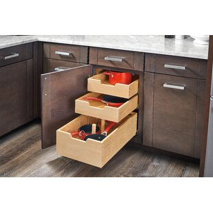 Rev-A-Shelf Wood Pilaster System Pull Out Drawer