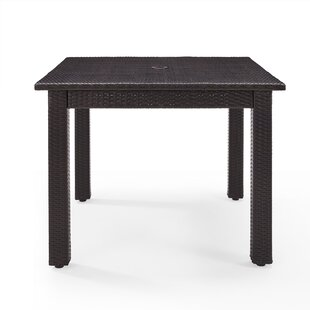 Belton Wicker Dining Table