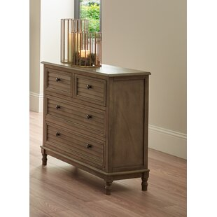 Seadrift 4 Drawer Chest By Brambly Cottage