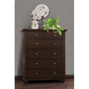 Nickelson High 6 Drawer Chest