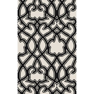 Inexpensive LaGrange Ivory/Black Area Rug ByDarby Home Co