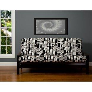 Best #1 Jayla Box Cushion Futon Slipcover Brayden Studio