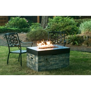 Tretco Stone Gas Fire Pit Table